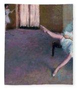 Before The Ballet Fleece Blanket