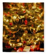 Christmas Tree Fleece Blanket