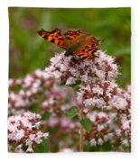 Comma Butterfly Fleece Blanket