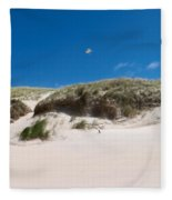 Dunes Of Danmark 2 Fleece Blanket