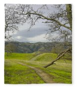 East Ridge Trail Spring Fleece Blanket