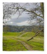 East Ridge Trail Spring Fleece Blanket