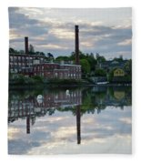 Exeter New Hampshire Usa Fleece Blanket