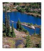 Lila Lake Fleece Blanket