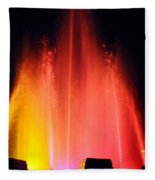 Mulholland Fountain Fleece Blanket