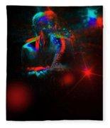 Kenny Garrett 5tet, Music Instrument Trumpet Sax Trombon  Fleece Blanket