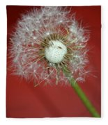 Nature Red Fleece Blanket