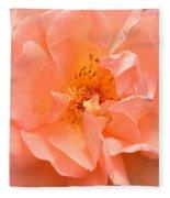 Peachy Perfection Fleece Blanket