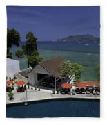 Phuket Thailand Fleece Blanket