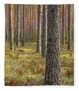 Pine Forest Fleece Blanket