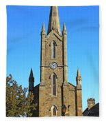 Pointed Church Fleece Blanket