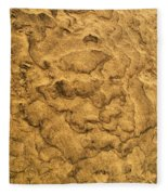 Sand Map Fleece Blanket