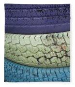 Seventies Tires Fleece Blanket