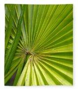 Spiny Fiber Palm Fleece Blanket