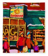 St. Viateur Bagel Family Bakery Fleece Blanket