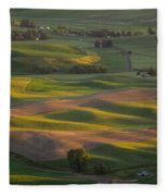 Steptoe Butte 10 Fleece Blanket