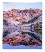 Leprechaun Lake Sunrise Fleece Blanket