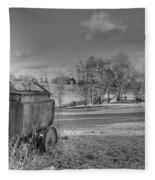Tar Boiler Fleece Blanket