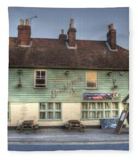 The Bricklayers Arms New Hythe Fleece Blanket