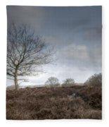 Tree On The Common  Fleece Blanket