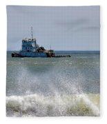 Tugboat Thomas D Witte Fleece Blanket