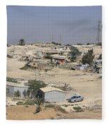Unrecognized, Beduin Shanty Township  Fleece Blanket