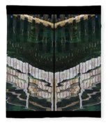 Water Reflection Twofold Fleece Blanket