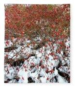 Winter Harvest 2 Fleece Blanket
