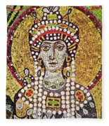 Theodora (c508-548) Fleece Blanket
