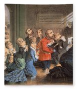 British Imperialism, 1882 Fleece Blanket