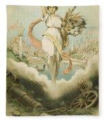 Atlanta Exposition, 1895 Fleece Blanket