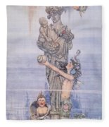 Andersen: Little Mermaid Fleece Blanket