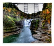 0032 Letchworth State Park Series  Fleece Blanket