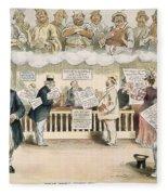 Foolish Forefathers, 1894 Fleece Blanket