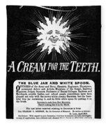 Fonweiss Toothpaste, 1887 Fleece Blanket