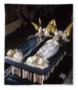 France: Tomb Of John II Fleece Blanket
