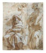 Raphael: Study, C1510 Fleece Blanket