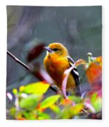 0651 - Baltimore Oriole Fleece Blanket