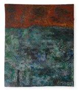 068 Abstract Thought Fleece Blanket