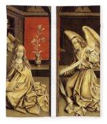 07464 Rogier Van Der Weyden Fleece Blanket