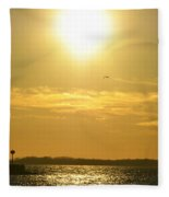 08 Sunset 16mar16 Fleece Blanket
