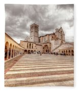 0954 Assisi Italy Fleece Blanket