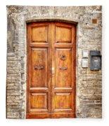 0958 Assisi Italy Fleece Blanket