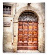 0959 Assisi Italy Fleece Blanket