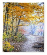 0982 Starved Rock Riverwalk Fleece Blanket