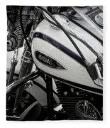 1 - Harley Davidson Series  Fleece Blanket