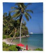 Phuket Thailand Fleece Blanket