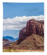 Views Of Canyonlands National Park Fleece Blanket