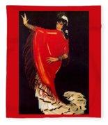 12215 Rafael De Penagos Fleece Blanket