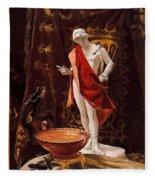 16488 Nicanor Pinole Fleece Blanket